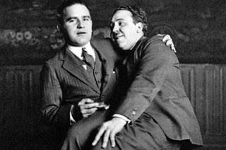 """Com o seu """"patrão"""" dos anos 20, Graham Cutts"""