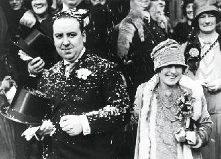 O casamento com Alma Reville em 1928