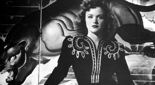 """Still de """"A Pantera"""" (Cat People, 1942) de Jacques Tourneur"""