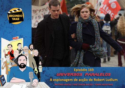 Universos Paralelos - 13 - A espionagem de acção de Robert Ludlum