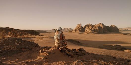 """Imagem de """"Perdido em Marte"""" (The Martian, 2015), de Ridley Scott"""